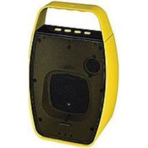 NXG Technology NX-WRLSM-YELLOW Wireless Bluetooth Speaker - Weather Resi... - $30.41