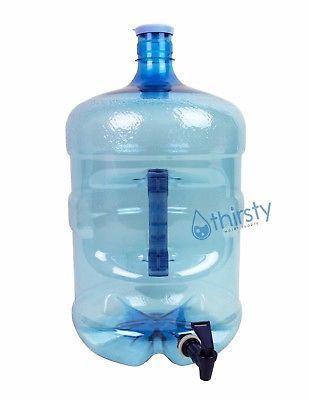5 Gallon Water Bottle Faucet Dispenser PET and similar items