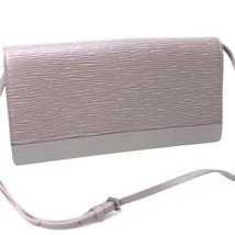 AUTHENTIC LOUIS VUITTON Epi Honfleur Clutch Bag 2 WAY Bag Purple M5273B - $295.00