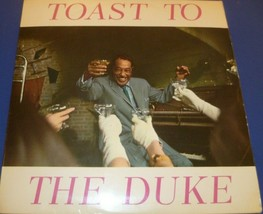 DUKE ELLINGTON TOAST TO THE DUKE VINYL LP WORLD RECORD CLUB TP 201  VG+ - $4.89