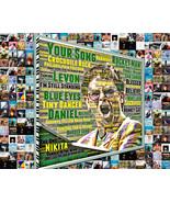 Elton John WordArt and Album Cover Song Title Mosaic Print Art  - $24.99+