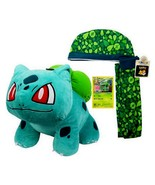 Build a Bear Pokemon Bulbasaur 14in. Stuffed Plush Toy Online Only Exclu... - $369.99