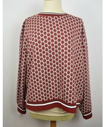 NWT GP&J Baker x hm size L womens sweater long sleeve top Gorgeous Red P... - $23.95