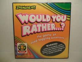 *NEW* Zobmondo!! Would You Rather...? The Game Of Mind-Boggling Questions - $21.67