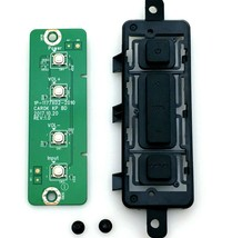 VIZIO V605-G3 Button Board 1P-117X02-2010  CAROK KP BD Original Replacement Part - $11.87