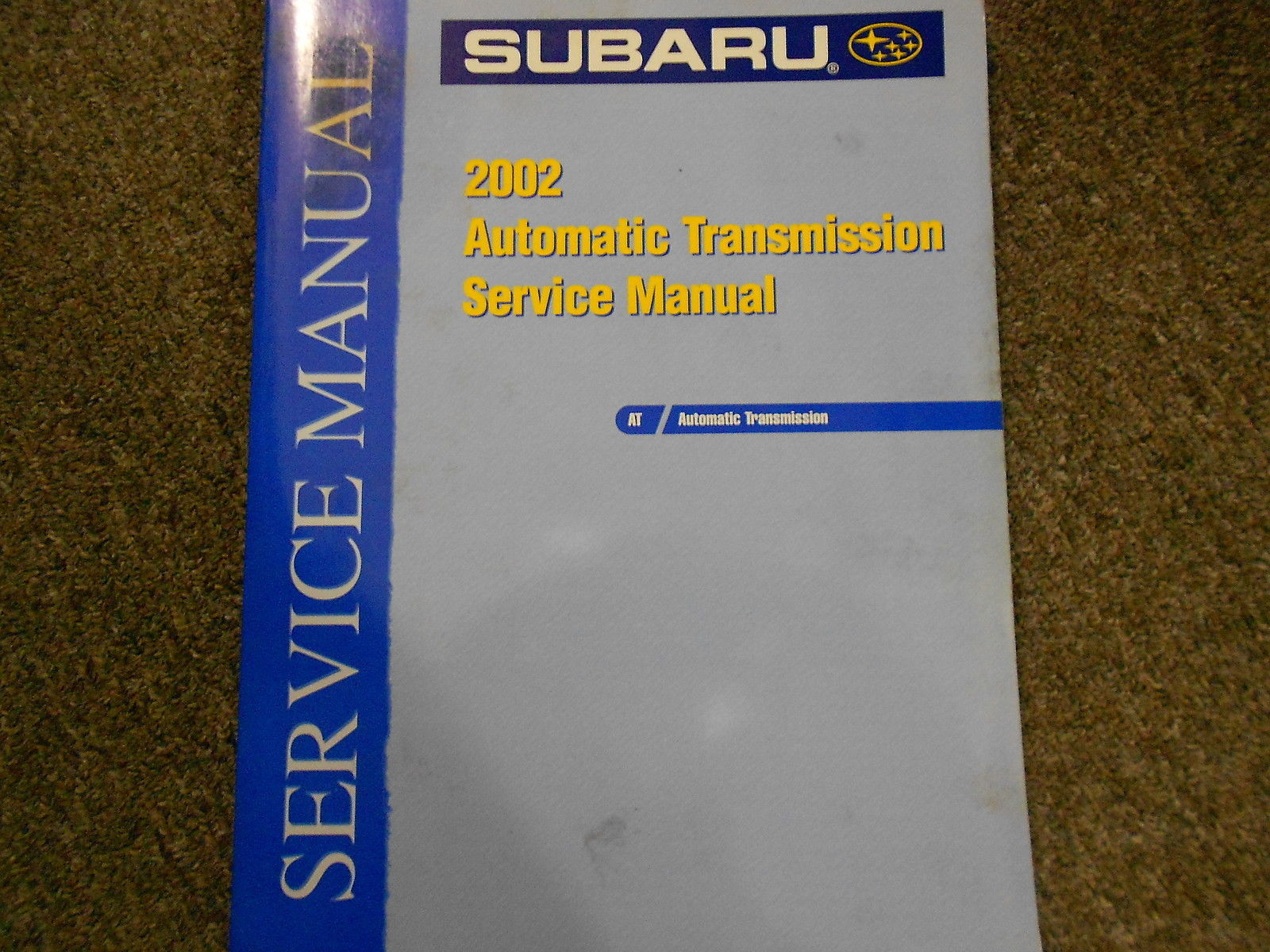2002 Subaru Automatic Transmission Service Repair Shop Manual FACTORY OEM BOOK
