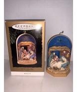 HallmarkKeepsake Ornament Let Us Adore Him 1996 - $12.50