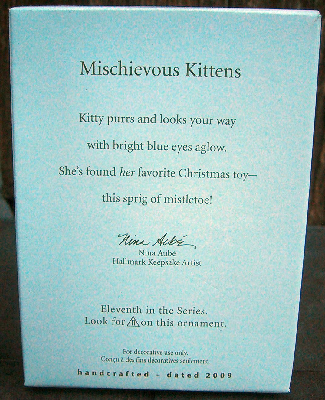 Hallmark Mischievous Kittens 11th in Series image 2