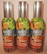 3 sprays Bath & Body Works Home Room Spray 1.5 oz Harvest Gathering - $47.99