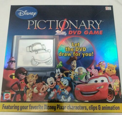 Primary image for Disney Pixar Pictionary DVD Game Complete Mattel 2007