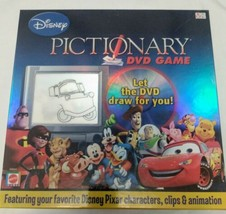 Disney Pixar Pictionary DVD Game Complete Mattel 2007 - $8.86