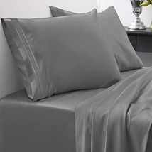 1800 Thread Count Sheet Set – Soft Egyptian Quality Brushed Microfiber Hypoaller