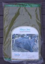 NOS Vtg Mid Century Morgan-Jones Denim-Aire Olive Green Bedspread Twin 7... - $51.30
