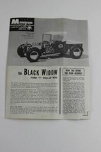 """Monogram Model Assembly Instructions for BLACK WIDOW Ford """"T"""" Pick-Up Ro... - $2.60"""