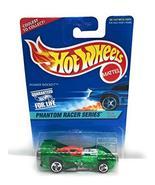 Hot Wheels Phantom Racer Series #1 Power Rocket Green Unpainted Base #52... - $6.24
