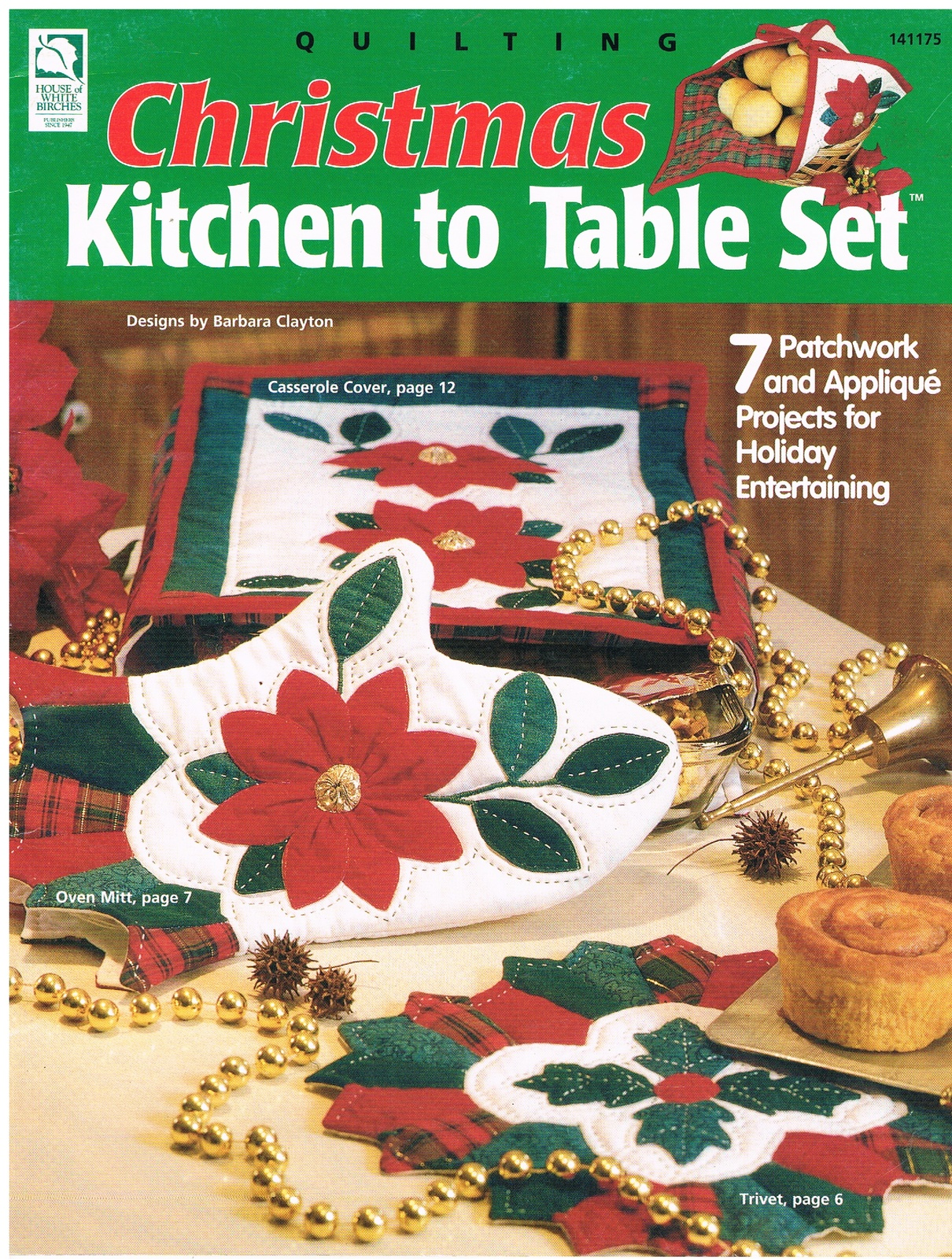 Primary image for Christmas to Table Set Quilting Pattern Craft Book