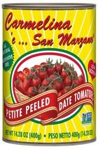 Carmelina San Marzano Italian Petite Peeled Date Tomatoes (Datterini) in... - $42.61