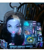 Monster High Gore-Geous Ghoul Anti Styling Head Glows In The Dark New Se... - $128.69