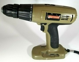 """CRAFTSMAN 130260001 18V 3/8"""" Cordless Drill/Driver Works Great! - $20.79"""
