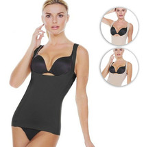 Strm Line Women's Smooth Shapewear Open Bust Cami Shaper With Adjustable Strap