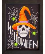 Boo halloween cross stitch chart Bobbie G Designs - $9.00