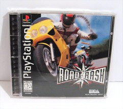 Road Rash (Sony PlayStation 1, 1995) PS1 Complete Black Label - $14.95