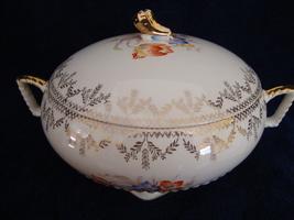 Royal China Co. Ohio covered white porcelain vegetable bowl pattern 5186... - $25.00