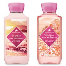 Bath and Body Works Portofino Pink Prosecco Body Lotion & Shower Gel Set - $24.75