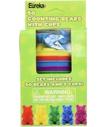 50 Counting Bears with 5 Cups - $8.99