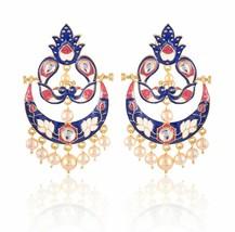 New Indian Handmade Bridal Women Fashion Dangle Earrings Jewelry Free Shipping - $10.71