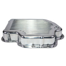 GM Turbo-Hydramatic TH400/THM400 Aluminum Transmission Pan w/ Gasket And Bolts image 5