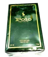 Ralph Lauren Polo After Shave Balm, 4 Ounce, 118 ml, New and Sealed in Box - $82.45