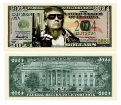 Pack of 25 - Donald Trump 2024 Presidential Novelty Dollar Bills Trumpin... - $9.85