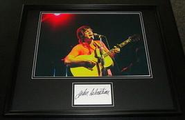 John Sebastian Signed Framed 16x20 Photo Display Lovin Spoonful - $140.24