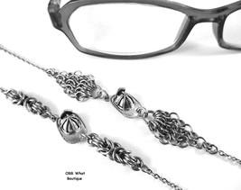 Fire Hats Eyeglasses Fireman Chain Necklace Steel Byzantine Chainmail Je... - $29.00+