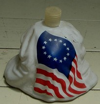 Vintage Partial Avon Betsy Ross Figural Bottle, Bottom Half Only, GD COND - $5.93