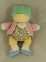 "Eden Fredrick Warne Frog Rattle Mini Plush 6"" #2 Stuffed Animal - $7.35"