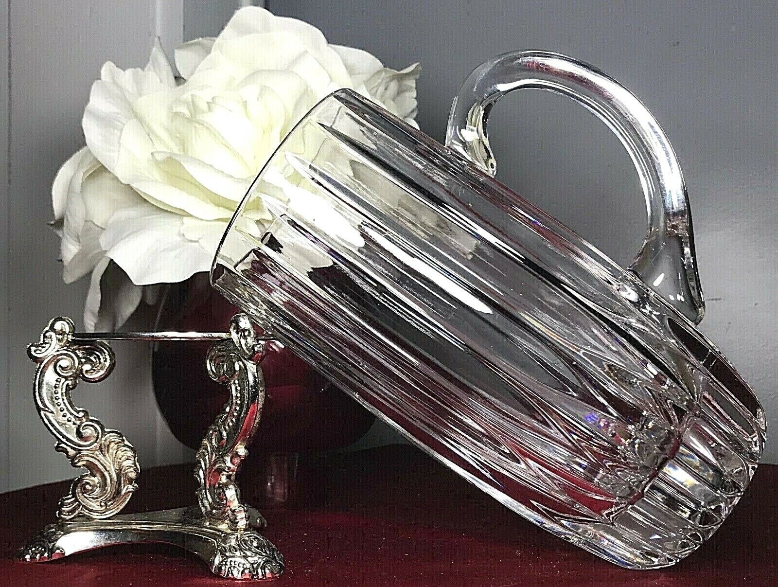 "Primary image for Vintage Mikasa Park Lane Crystal Handled Beer Stein Mug 7"" Retired SN101/216 EUC"