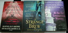 Lot 5 PN Elrod anthology Jim Butcher Briggs Harris Armstrong Kenyon BLOO... - $18.43