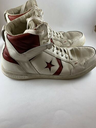 John Varvatos Converse Weapon Hi Top Fashion Sneakers Size 7.5 Mens