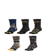 Batman Dc Comics 5 Pack Casual Crew Socks - $19.95
