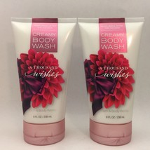 2-Pack Bath & Body Works A Thousand Wishes Creamy Body Wash 8 fl.oz 236 ml - $18.46