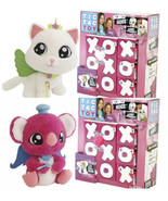 TIC TAC TOY XOXO Set Of 2 Hugs Blind Mystery 6 Pack Plush Set White And ... - $36.58