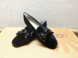 Ugg Italian Collection Lunetta Black With Bow Shoe Us 7 Eu 38 / Uk 5.5 - $65.44