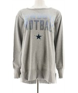 NFL Dallas Womens Pullover Sweatshirt Cowboys S NEW A296246 - $32.65