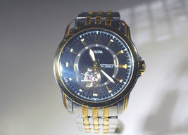 Bulova 96A108 Men's Stainless & Gold Plate Wrist Watch with Skeleton Works - $173.25