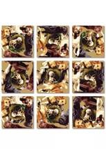 B Dazzle Retrievers Scramble Squares 9 Piece Puzzle Dog Doggy Doggies Ga... - $14.84