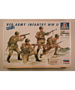 NEW Italeri 346, WWII Red Army Infantry, Set 2, 1/35 Scale - $8.59