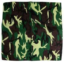 """12 Pack Premium Cotton Head Wrap Scarf Bandana Multiple Colors 22"""" X 22"""" image 9"""