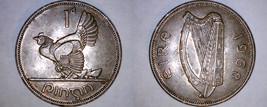 1968 Irish 1 Penny World Coin - Ireland - $5.49